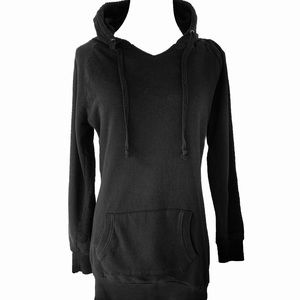 Zenana Outfitters V-Neck Hooded Sweatshirt